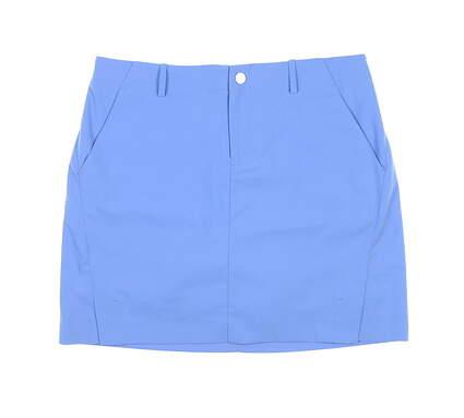 New Womens Ralph Lauren Polo Golf Skort 8 Blue MSRP $125