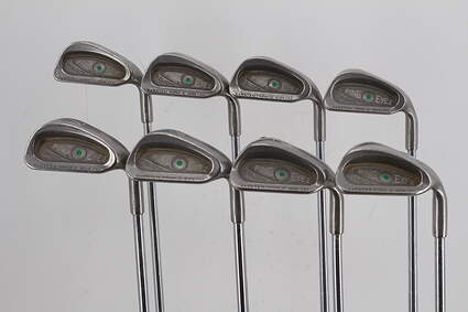 Ping Eye 2 Iron Set 3-PW Ping ZZ Lite Steel Stiff Right Handed Green Dot 38.0in