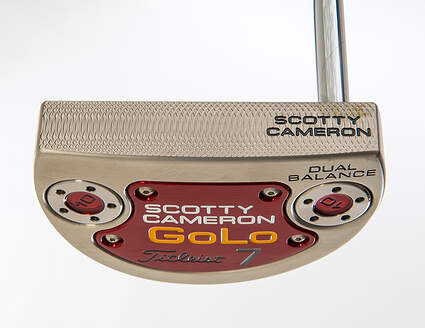Mint Titleist Scotty Cameron 2014 Golo 7 Dual Balance Putter Steel Right Handed 38.0in