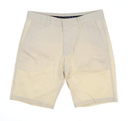 New Mens Cross Pure Bermuda Golf Shorts 33 Birch MSRP $85