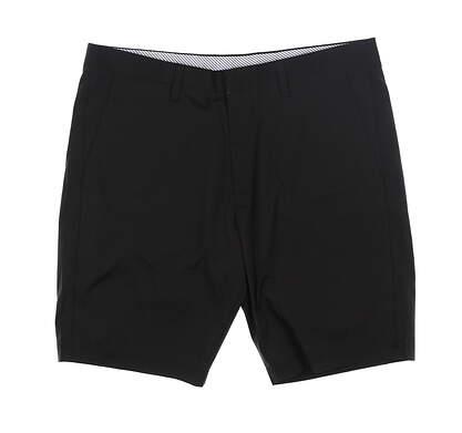 New Mens Cross Byron Golf Shorts 34 Black MSRP $120