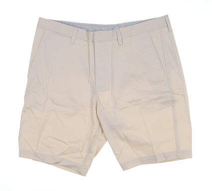 New Mens Cross Byron Golf Shorts 34 Pumice Stone MSRP $100