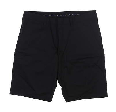 New Mens Cross Pure Bermuda Golf Shorts 36 Black MSRP $85