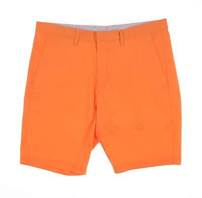 New Mens Cross Byron Golf Shorts 34 Melon MSRP $120