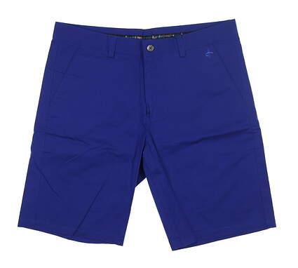 New Mens Cross Classic Bermuda Golf Shorts 36 Ultramarine MSRP $85