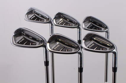 Ping I20 Iron Set 5-PW Ping TFC 169I Graphite Regular Right Handed Blue Dot 38.0in