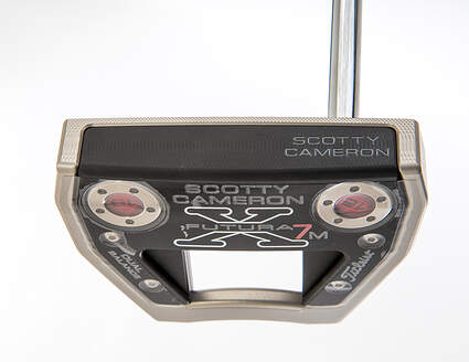 Titleist Scotty Cameron Futura X7M Dual Balance Putter Steel Right Handed 38.0in