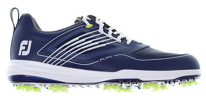 New Mens Golf Shoe Footjoy FJ Fury Medium 9.5 Blue 51101 MSRP $190