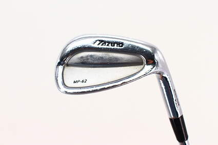 Mizuno MP 62 Single Iron Pitching Wedge PW Rifle Flighted 6.5 Steel X-Stiff Right Handed 35.75in