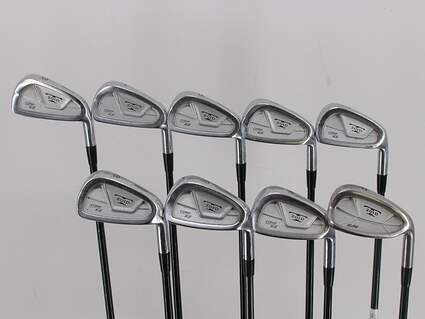 Mizuno T-Zoid EZ Comp Iron Set 3-PW GW Stock Graphite Shaft Graphite Stiff Right Handed 38.0in