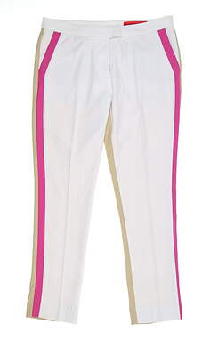 New Womens G-Fore Color Block Trouser 8 Multi G4LS19B41 MSRP $165