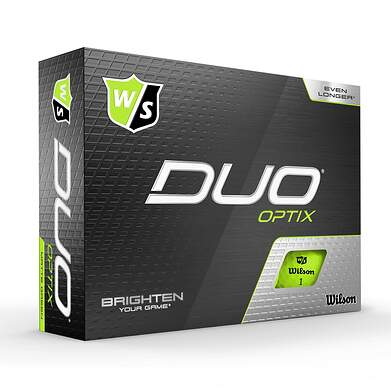 Wilson Staff DUO Optix Green Golf Balls