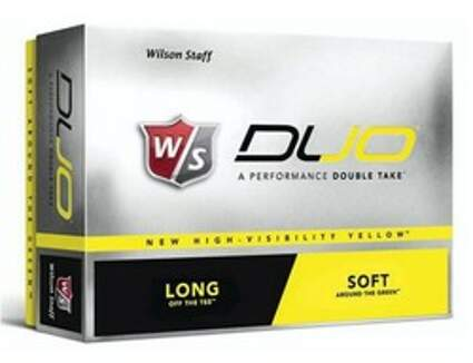 Wilson Staff Duo Yellow Dozen Golf Balls