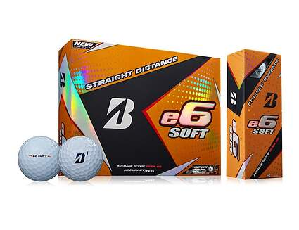 Bridgestone e6 Soft Dozen Golf Balls