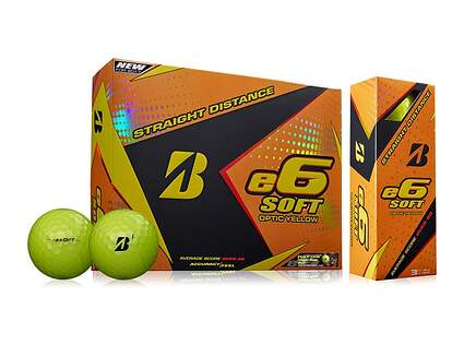 Bridgestone e6 Soft Yellow Dozen Golf Balls