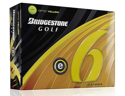 Bridgestone E6 Yellow Dozen Golf Balls