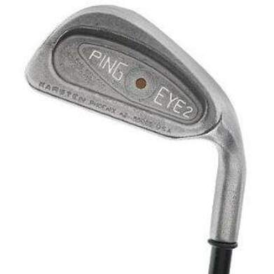 Ping Eye 2 Single Iron 6 Iron Stock Steel Shaft Steel Stiff Right Handed Black Dot 37.5in