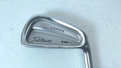 Titleist 690 CB Forged Single Iron 4 Iron Steel Stiff Right 39 in