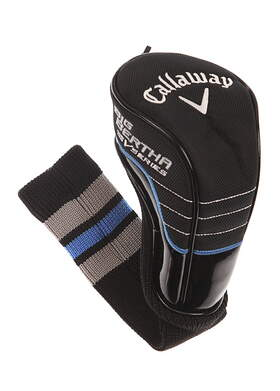 Callaway Womens Big Bertha V Series Fairway Wood Headcover Light Blue Head Cover Golf