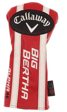 Callaway Big Bertha Alpha Double Black Diamond Driver Headcover