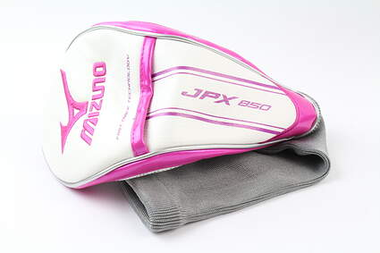 Mizuno JPX 850 Ladies Driver Headcover Pink/White/Grey