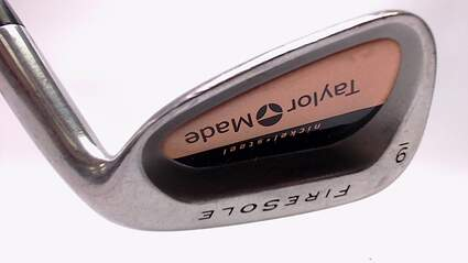 TaylorMade Firesole Single Iron 9 Iron Stock Steel Shaft Steel Regular Right Handed 35.5 in