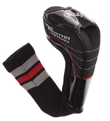 Callaway Big Bertha V Series Driver Red Stripe Headcover Head Cover Golf