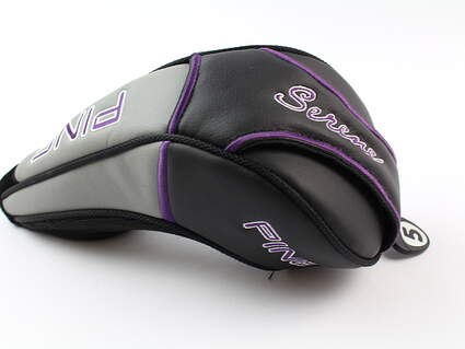 Ping Serene 5 Fairway Wood Ladies Headcover Black/Purple/Grey