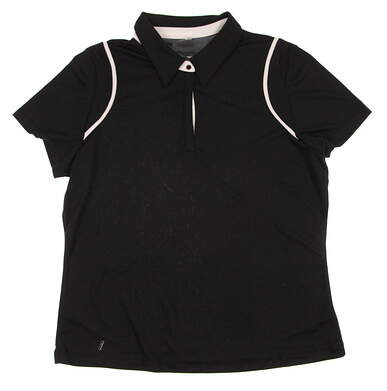 New Women's Tail Golf Polo Small S Black SS