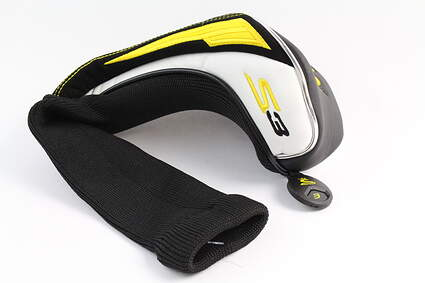 Cobra S3 Fairway Wood Black Yellow Headcover Head Cover Golf