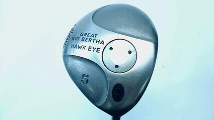 Callaway Hawkeye Fairway 5 Wood 5W Hawkeye Gems UL Graphite Ladies Right Handed 41.75 in