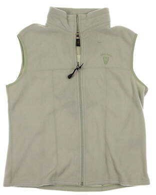 New Womens North End Golf Vest Large L Celery Green