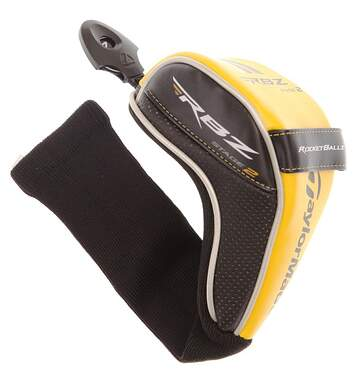 TaylorMade RocketBallz Stage 2 Fairway Wood Headcover 3 4 5 7 Tag Black Yellow Head Cover