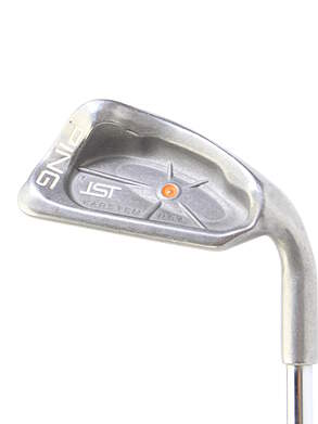 Ping ISI Single Iron 8 Iron Steel Right Handed Orange Dot 34.25 in
