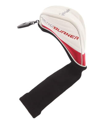 TaylorMade AeroBurner Hybrid Headcover 3 4 5 7 X Adjustable Tag Red/White/Black