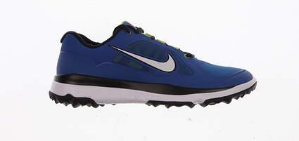 New W/O Box Mens Golf Shoes Nike Fi Impact Medium Size 10.5 Blue Dynamic Fit