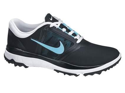 New Womens Golf Shoes Nike Fi Impact Medium 7.5 Black 611509-001 MSRP $160