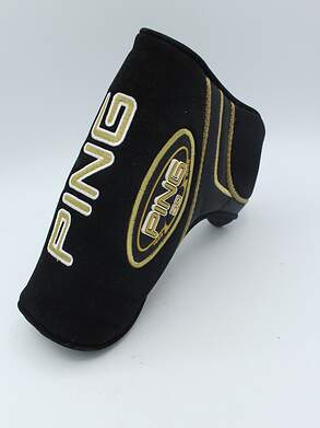 PING Karsten 1959-2009 50th Anniversary Putter Headcover Black/Gold