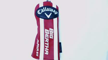 Callaway Big Bertha Alpha 815 Fairway Wood Headcover W/ Adjustable Tag