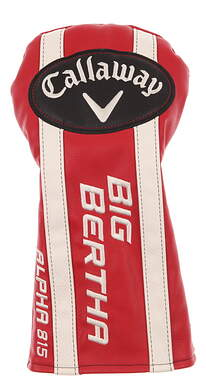 Callaway Big Bertha Alpha 815 Driver Headcover Head Cover Golf