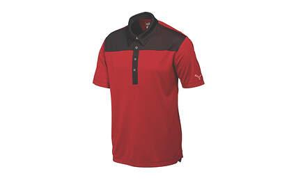 New Mens Puma Diamond Block Cresting Dry Cell Golf Polo Medium Red 570097 MSRP$70