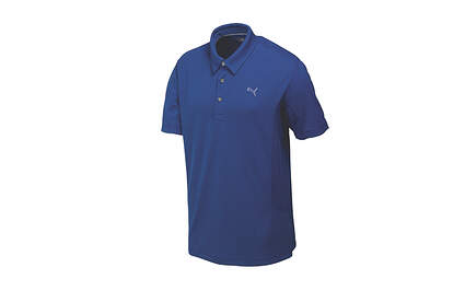 New Mens Puma Solid Tech Cool Cell Golf Polo Medium Sodalite Blue 568242 MSRP$50