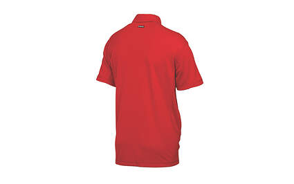 New Mens Puma Cool Cell Solid Tech Polo Medium Tango Red 568242 MSRP $50