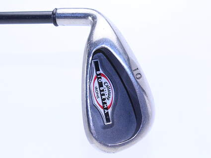 Callaway 2002 Big Bertha Single Iron Pitching PW Callaway RCH 75i Graphite Regular Left Handed 35.5 in