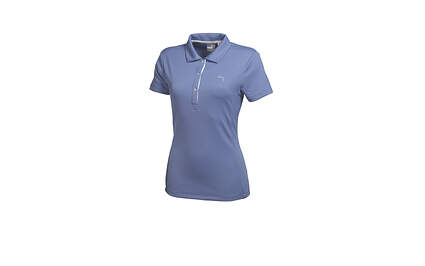 New Womens Puma Cresting Dry Cell Solid Tech Golf Polo Small Lavender 568336 MSRP $50