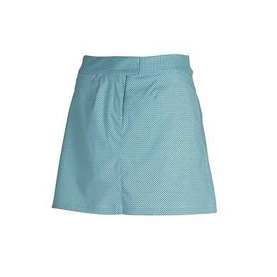 New Womens Puma Dry Cell Wicking Diamond Pattern Golf Skort Medium Blue Coral 569084 MSRP $70