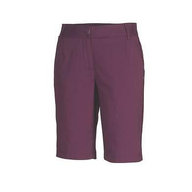 New Womens Puma Golf Solid Tech Bermuda Shorts Italian Plum Purple Size 4 MSRP 65.00