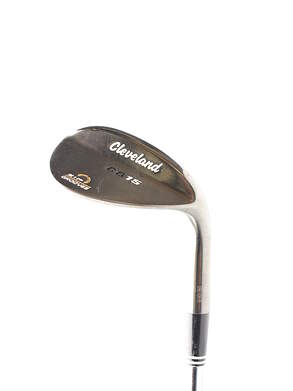 Cleveland CG15 Black Pearl Wedge Gap GW 52* 10 Deg Bounce Cleveland Traction Wedge Steel Wedge Flex Right Handed 36.5 in