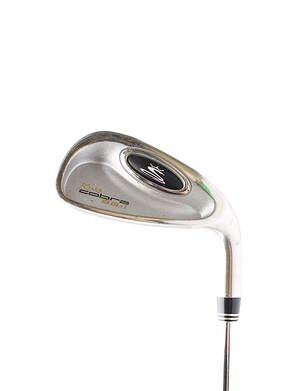 Cobra SS Oversize Single Iron 9 Iron Stock Steel Shaft Steel Regular Right Handed 35.75 in