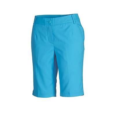 New Womens Puma Golf Solid Tech Bermuda Shorts Size 4 Blithe Blue 568359 MSRP 65.00